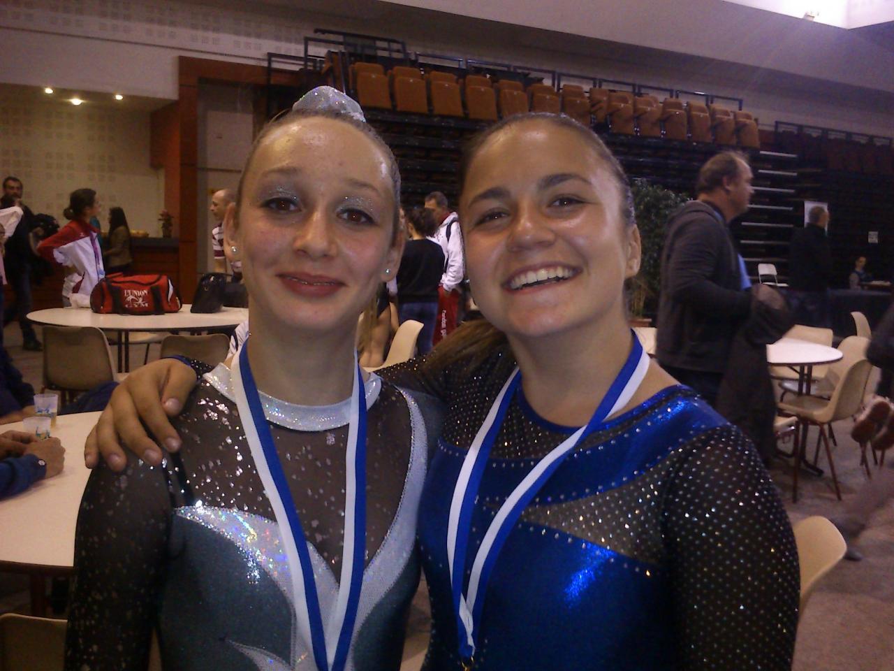 Julie et Margault, Championnes de zone DIR 2015