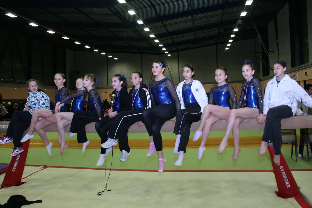 Equipes Critérium Benjamines/Minimes 2012