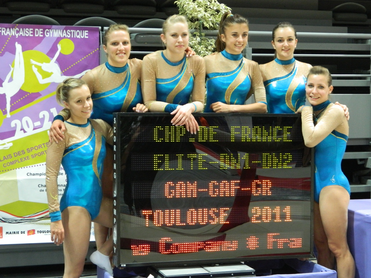 L'équipe DN1 2011 à Toulouse